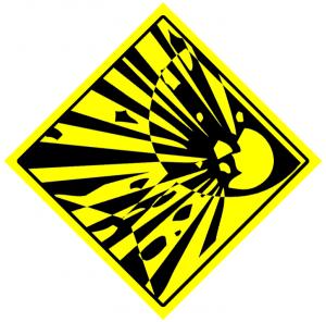 Banging Fragiles: Exploding Glass: Yellow Diamond