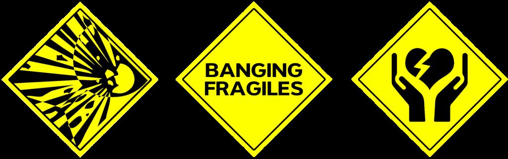 Banging Fragiles: Three Yellow Diamonds